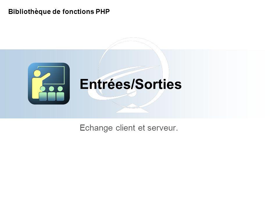 [Title of the course] Echange client et serveur.
